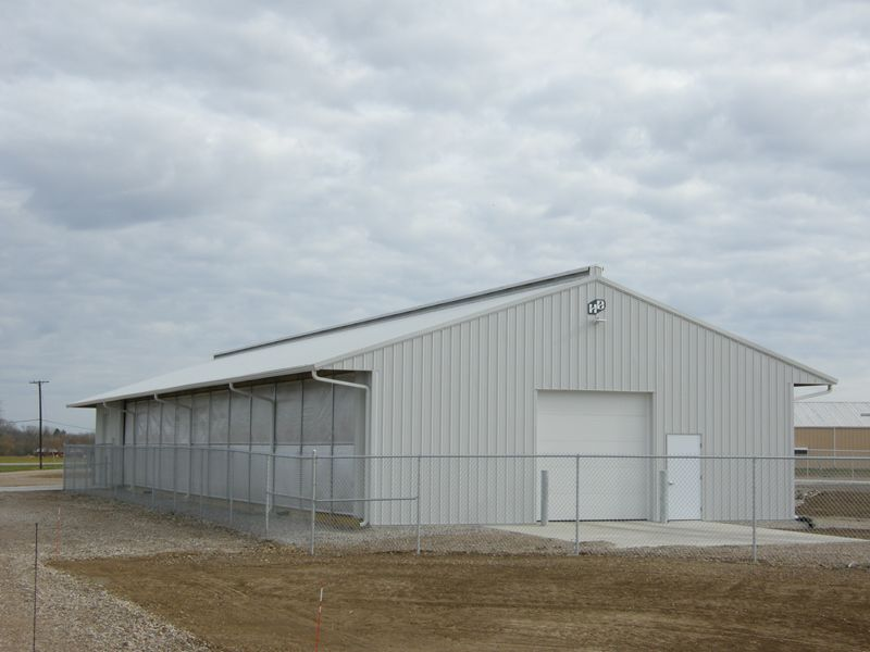 Allwood Structures Pole Buildings Ohio : Post frame construction bulding awards ohio hochstetler