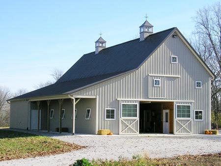 Ohio Post Frame Builders, Pole Barns, Horse Barns